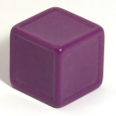 Purple indented dice
